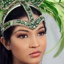 Minimalistic Carnival Makeup