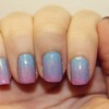 Blue To Pink Gradient + Holo