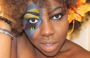Just for fun using MUFE and INGLOT