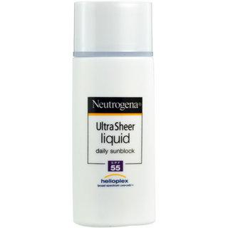 Neutrogena Ultra Sheer Liquid Daily Sunblock SPF 55