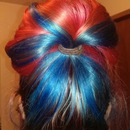 Spiderman hair :)