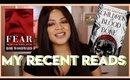 RECENT READS #1 | Thrillers, Political Novels, African Fantasy Novel & More!