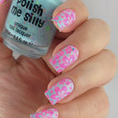 "Polish me silly ""get breezy"" & Stamping with Lesly LS-12"
