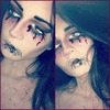 Drawn on eyes - Halloween Style