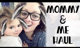 Mommy & Me Haul Featuring Violet [Toddler Girl Clothing Haul]