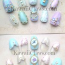 Pastel Negative Space Tribal and Monogram French