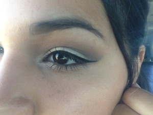 Attempt to do a cut crease .. But it didn't work out so I ended up blending both together :) I'm still feeling it sooo all good