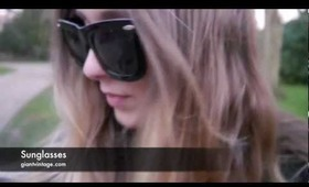 Sunglasses Talks & MY STYLE