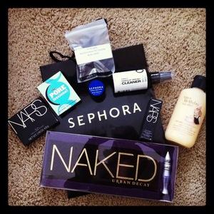 Birthday haul from Sephora :D