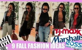 9 Fall Outfit Ideas 40+ Lookbook | Ross, Marshalls, TJ Maxx, DSW, Fashionphile | BorderHammer