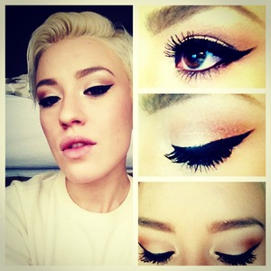 Cat eye and nudes!!!!