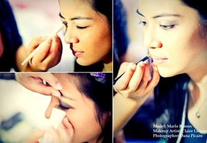 This is for a debut photo shoot that I did for one of my closest friends, Marlo. :) Credits to my cousin, Dana for the picture. :)