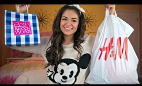 Fall Clothing Haul! H&M, Urban outfitters, Bath & Body works