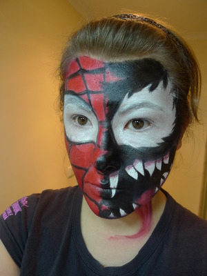 Taken from the cover of 'Spiderman vs Venom' video that I had a while back.