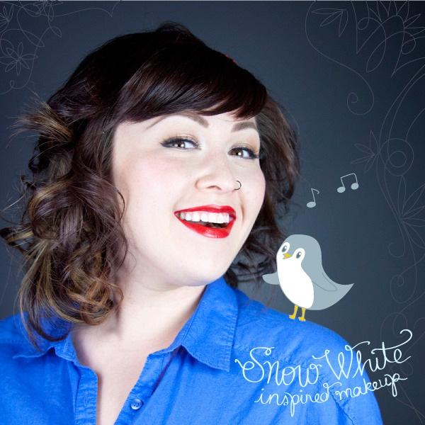 Snow White-Inspired Makeup   DIY Snow White Costume Ideas For Halloween   snow white costume   snow white costume diy