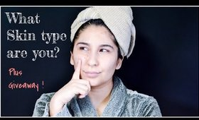 What skin type are you? plus giveaway
