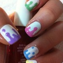 Drippy nails.:)
