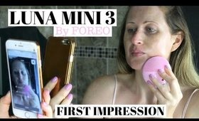 FOREO LUNA MINI 3 REVIEW, FIRST IMPRESSION AND DEMO
