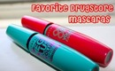 Top Two favorite drugstore mascaras