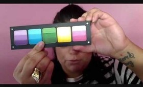 Pretty In Pigment: Inglot Rainbow Palette Review