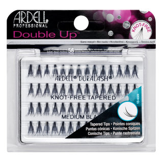 Double Up Soft Touch Individuals Knot-Free Lashes  Double Up Medium Black