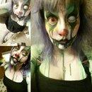 clown makeup day 2