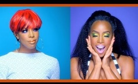 "Kelly Rowland ""Kisses Down Low"" Makeup Tutorial"