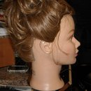Right Side View of Updo