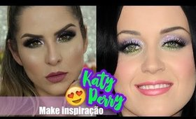 MAQUIAGEM KATY PERRY - Collab com as Amigas por Claudia Guillen