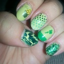 St.  Paddy's Day Manicure
