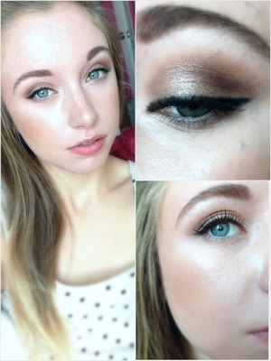 Natural, soft look for a pretty, casual day.