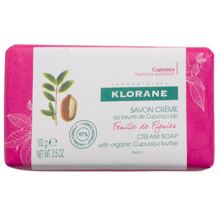 Klorane Fig Leaf Cream Soap with Cupuaçu Butter