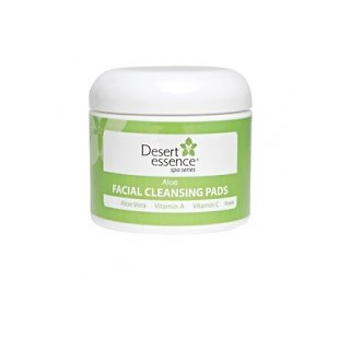 Desert Essence Aloe Facial Cleansing Pads
