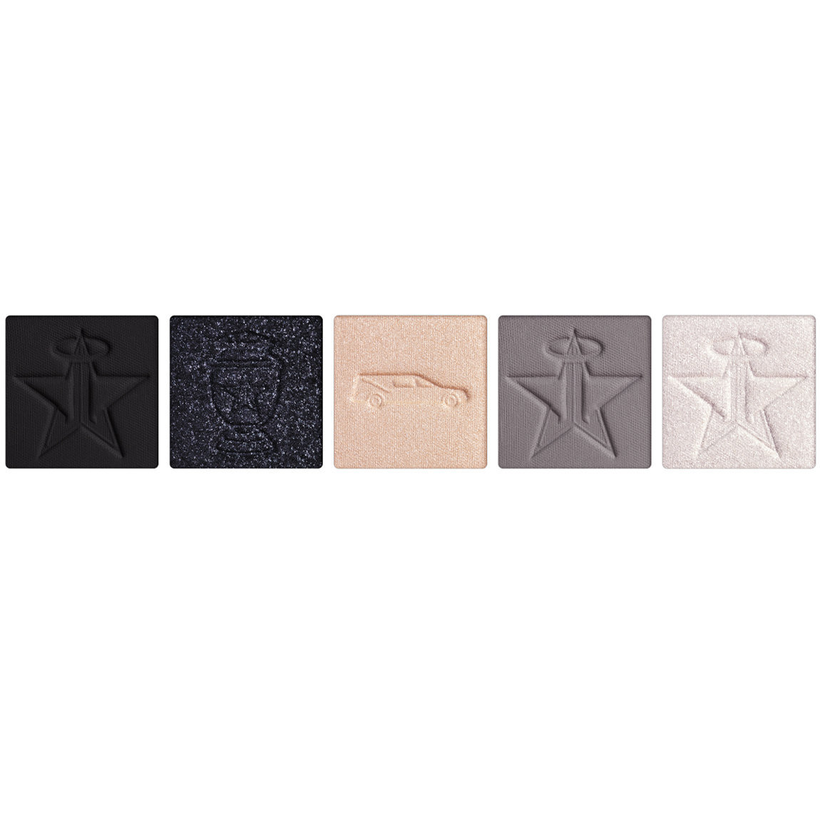 Jeffree Star Cosmetics Cremated Artistry Singles Bundle alternative view 1 - product swatch.