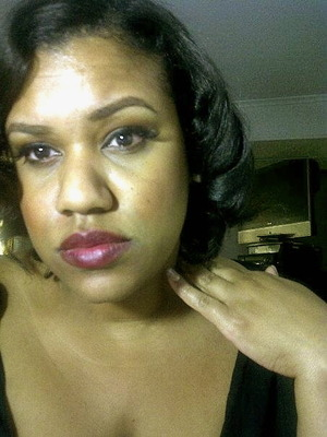 Elizabeth Taylor inspired Hair. I have a video how i got this look