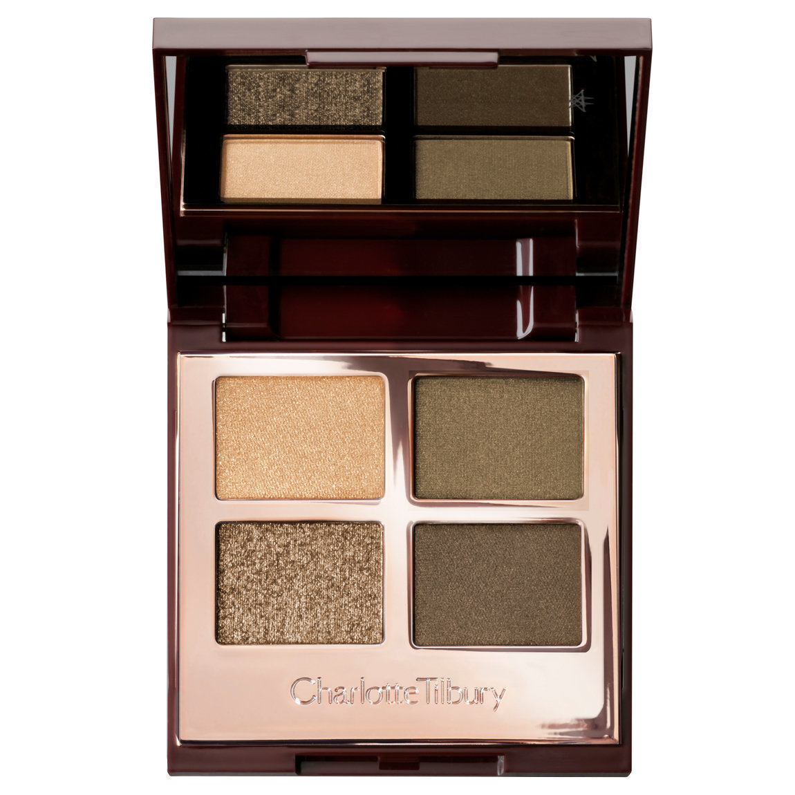 Charlotte Tilbury Luxury Palette Green Lights product swatch.