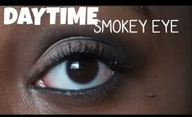 DAYTIME SMOKEY EYE! | TranslucentBrown