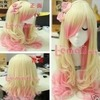 Blonde & Pink Wig
