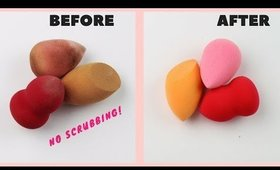 Beauty Blender Hack For A Deep Clean | #BeautyBite