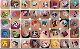 ♥ HUGE Toe Nail Art Designs Compilation You Won't Be Able to Stop Watching!