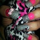 Pink Acrylic Nails