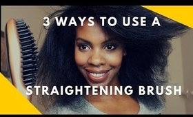 3 Ways to Use a Straightening Brush
