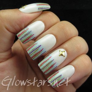 Read the blog post at http://glowstars.net/lacquer-obsession/2014/08/nail-max-collections-vol-10-design-colorful-012/