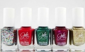 Jesse's Girl JulieG Holiday Collection Review with Swatches