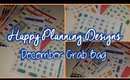Planner Haul #15 | Happy Planning Designs December Grab Bag