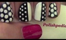 Chic Polka Dot Nails: Blogger Monday