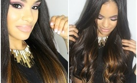 How I Add Volume & Color to My Hair ft. WowAfrican Hair Extensions (review + tutorial)