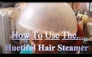 How I Use The Huetiful Hair Steamer To Keep My Hair Moisturized During The Winter.
