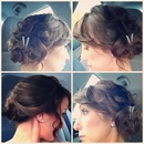 updo on myself