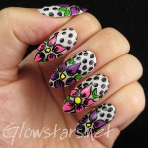 Read the blog post at http://glowstars.net/lacquer-obsession/2014/10/the-digit-al-dozen-does-florals-flowers-and-dots/